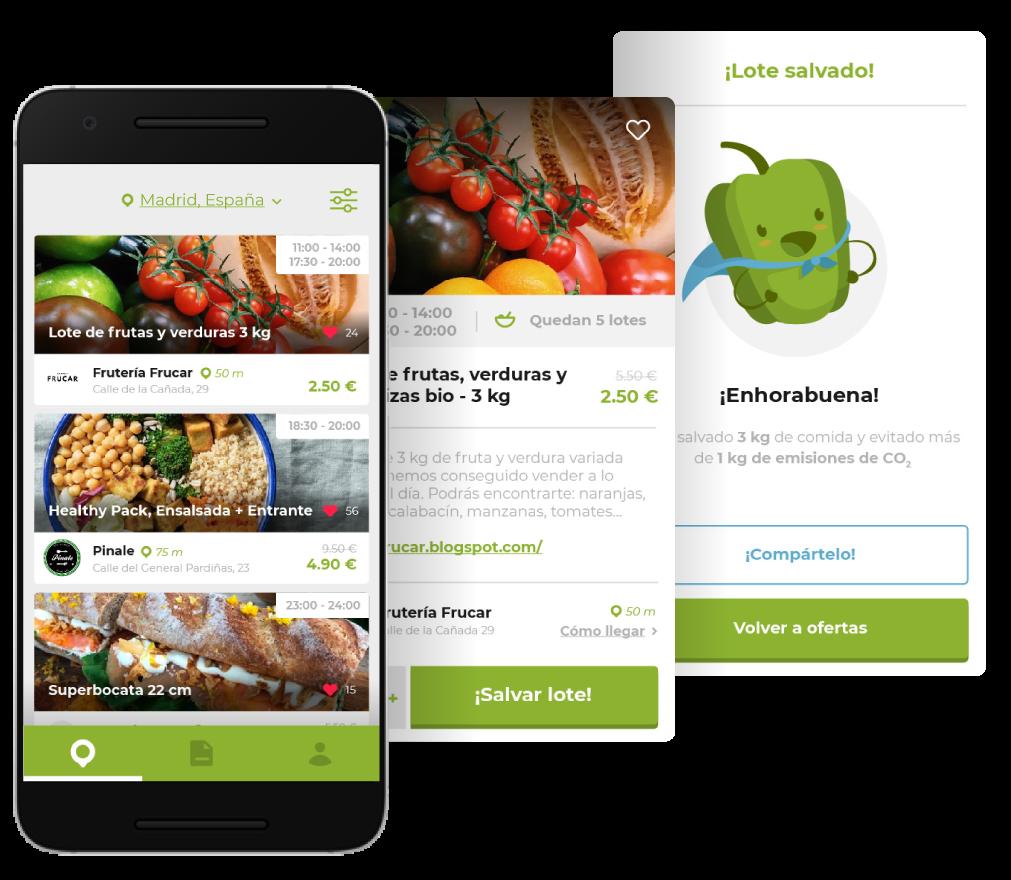app encantado de comerte